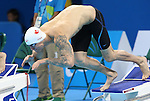 Rio de Janeiro-9/9/2016- Nathan Stein competes in the men's 50m free during the swimming  at the 2016 Paralympic Games in Rio. Photo Scott Grant/Canadian Paralympic Committee