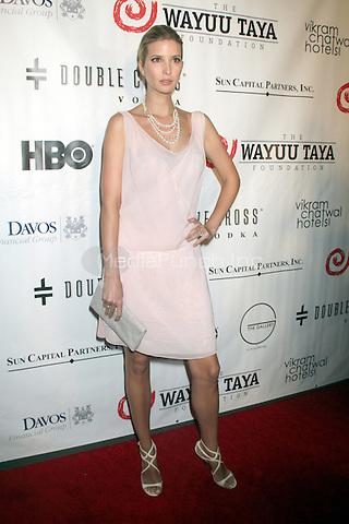 May 21, 2012 Ivanka Trump at the 10th Anniversary gala of the Wayuu Taya Foundation at the Dream Downtown Hotel in New York City. Credit: RW/MediaPunch Inc.