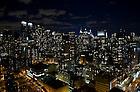 Manhattan skyline at night...Photo by Matt Cashore/University of Notre Dame