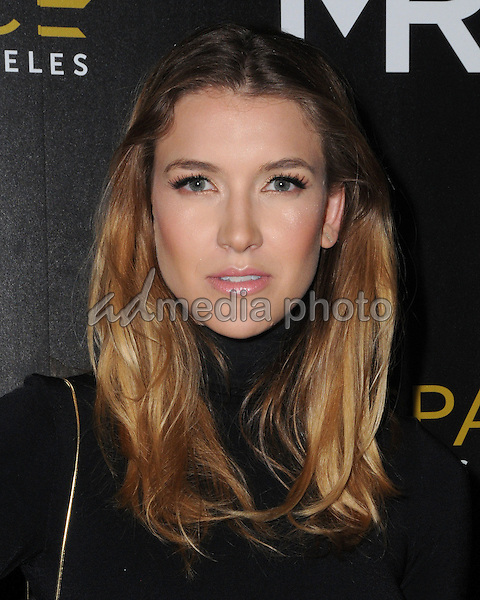 14 July 2016 - Los Angeles, California. Nathalia Ramos. Arrivals for the Launch of OUE Skyspace LA held at US Bank Tower. Photo Credit: Birdie Thompson/AdMedia