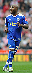 Barry Hayles of Leicester City during the Championship League match at The Britannia Stadium, Stoke. Picture date 4th May 2008. Picture credit should read: Simon Bellis/Sportimage
