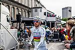 Rui Costa (ITA,LAM) before the start, Liège, Belgium, 27 April 2014, Photo by Pim Nijland / www.pelotonphotos.com