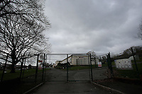 Pictured: Exterior view of Llangennech Junior School, west Wales. Thursday 24 February 2017<br />