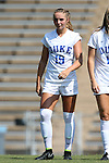 23 August 2015: Duke's Schuyler DeBree. The Duke University Blue Devils played the Weber State University Wildcats at Fetzer Field in Chapel Hill, NC in a 2015 NCAA Division I Women's Soccer game. Duke won the game 4-0.