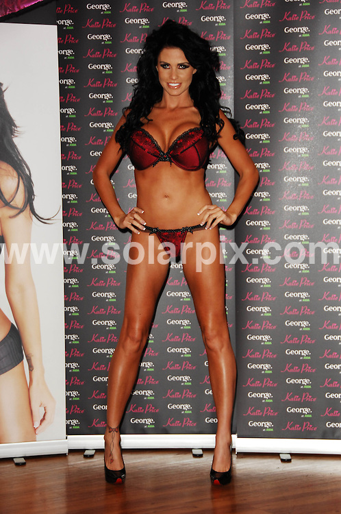 **ALL ROUND PICTURES FROM SOLARPIX.COM**.**WORLDWIDE SYNDICATION RIGHTS**.The Top model Katie Price(Jordan) promotes her new range of underwear for George at ASDA at the lakeside retail park in Thurrock London...JOB REF: 7966       FMF      DATE:20.11.08.**MUST CREDIT SOLARPIX.COM OR DOUBLE FEE WILL BE CHARGED* *UNDER NO CIRCUMSTANCES IS THIS IMAGE TO BE REPRODUCED FOR ANY ONLINE EDITION WITHOUT PRIOR PERMISSION*