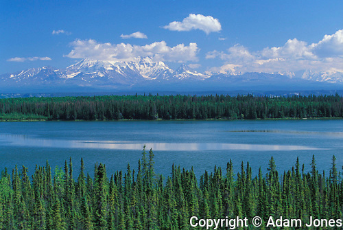 Willow Lake and Mt Wragell Saint Alias, Alaska