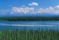 Willow Lake and Mt Wragell Saint Alias, Alaska