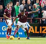09.05.2018 Hearts v Hibs:  Joaquim Adao concedes penalty