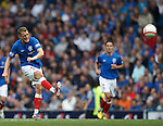 Dean Shiels launches a ball towards the International Space Station