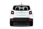 Straight rear view of2015 JEEP Renegade Sport 5 Door Suv Rear View  stock images