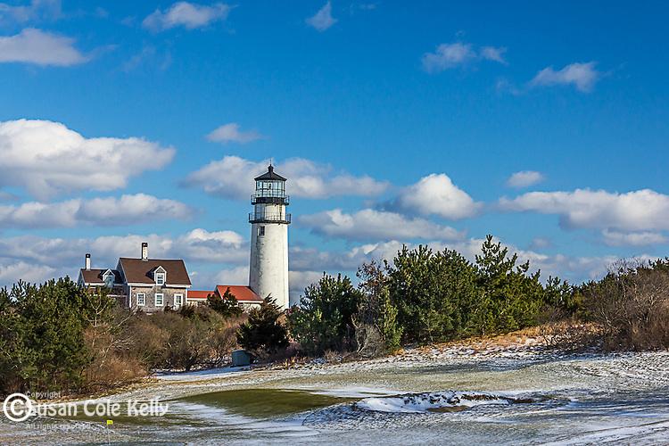 Highland (cape Cod) Light in Truro, Cape Cod, Massachusetts, USA