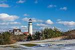 Highland (cape Cod) Light in Truro, Cape Cod, Massachusetts, USA