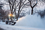 MC 12.25.17 Snow Plow.JPG by Matt Cashore/University of Notre Dame
