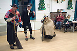 Hooden Horse Christmas play at St Nicholas-at-Wade, Thanet Kent 2014. Performance in Village Hall.