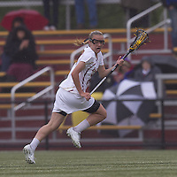 Boston College midfielder Kate McCarthy (20) at midfield. Boston College defeated University of New Hampshire, 11-6, at Newton Campus Field, May 1, 2012.
