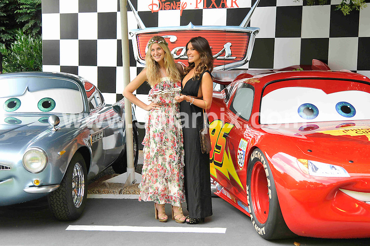 **ALL ROUND PICTURES FROM SOLARPIX.COM**                                             **WORLDWIDE SYNDICATION RIGHTS**                                                                                  Caption: Pre-party celebrating the UK Premiere of CARS 2 at Whitehall Gardens on July 17, 2011 in London                                                                              This pic:  Francesca Hull, Gabriella Ellis                                                                  JOB REF: 13735 MSR       DATE: 17_07_2011                                                           **MUST CREDIT SOLARPIX.COM OR DOUBLE FEE WILL BE CHARGED**                                                                      **MUST AGREE FEE BEFORE ONLINE USAGE**                               **CALL US ON: +34 952 811 768 or LOW RATE FROM UK 0844 617 7637**