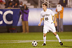 14 November 2008: Wake Forest's Danny Wenzel. The University of Virginia defeated Wake Forest 3-2 in two overtimes at WakeMed Stadium at WakeMed Soccer Park in Cary, NC in a men's ACC tournament semifinal game.