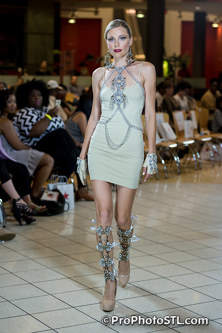 Fashion for Food runway show at Chesterfield Mall in Chesterfield, MO on Sept 28, 2014.