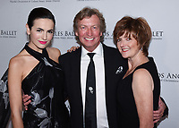 April 11, 2019 - Beverly Hills, California - Camilla Belle and Nigel Lythgoe and Julie Whittaker. Los Angeles Ballet Gala 2019 held at The Beverly Hilton Hotel. <br /> CAP/ADM/BB<br /> &copy;BB/ADM/Capital Pictures