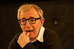 *** EXCLUSIVE Coverage *** .Woody Allen during a Press Promotion Tour for Melinda & Melinda in Paris, France.  Woody meets with a group of French Film Students for an intimate Q&A Session. .December 20, 2004 .© Walter McBride / .....