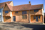 Little Hall, Lavenham, Suffolk, England. Little Hall is a late 14th Century Hall House on the main square in the picturesque village of Lavenhamd