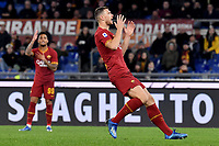 Edin Dzeko of AS Roma <br /> Roma 23/02/2020 Stadio Olimpico <br /> Football Serie A 2019/2020 <br /> AS Roma - Lecce<br /> Photo Andrea Staccioli / Insidefoto