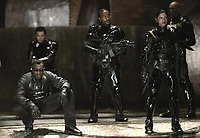 Blade II (2002) <br /> (Blade 2)<br /> Wesley Snipes, Danny John-Jules &amp; Leonor Varela<br /> *Filmstill - Editorial Use Only*<br /> CAP/KFS<br /> Image supplied by Capital Pictures