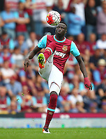 Cheikhou Kouyate of West Ham United   during the Barclays Premier League match between West Ham United and Swansea City  played at Boleyn Ground , London on 7th May 2016