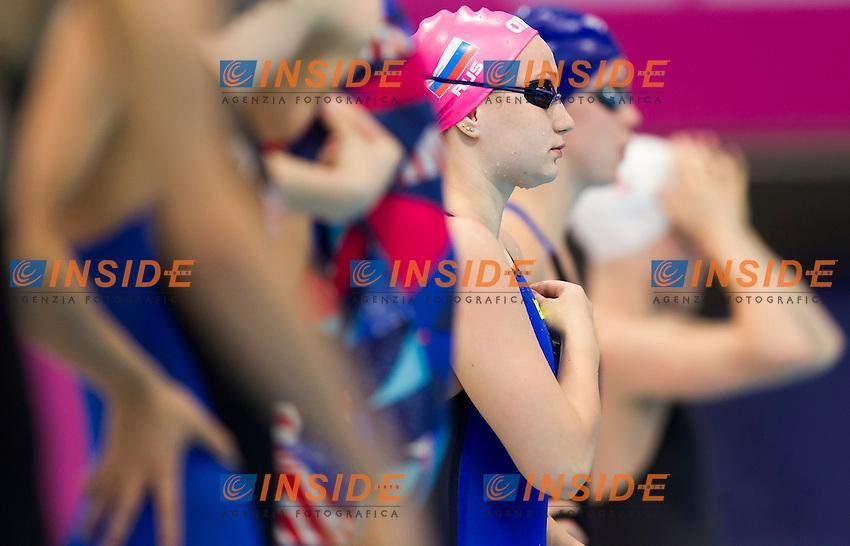 PRIKHODKO Irina RUS<br /> London, Queen Elizabeth II Olympic Park Pool <br /> LEN 2016 European Aquatics Elite Championships <br /> Swimming<br /> Women's 100m backstroke preliminary  <br /> Day 10 18-05-2016<br /> Photo Giorgio Perottino/Deepbluemedia/Insidefoto