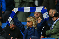 Brighton fan ahead of Brighton & Hove Albion vs Norwich City, Premier League Football at the American Express Community Stadium on 2nd November 2019