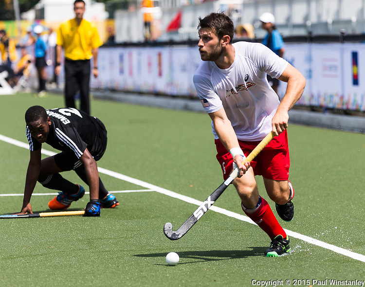 USA Men vs TTO Men at Pan Am Games 2015 in Toronto, Ontario, Canada