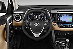 Car pictures of steering wheel view of a 2016 Toyota RAV4 Limited 4x4 Door Suv Steering Wheel