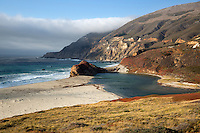 United States of America, California, Monterey County, Big Sur: Little Sur River | Vereinigte Staaten von Amerika, Kalifornien, Monterey County, Big Sur: Little Sur River