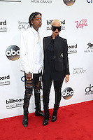 LAS VEGAS, NV - May 18 : Whiz Khalifa and Amber Rose pictured at 2014 Billboard Music Awards at MGM Grand in Las Vegas, NV on May 18, 2014. ©EK/Starlitepics