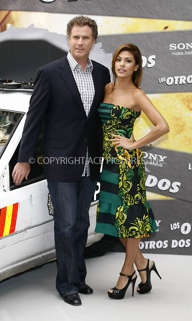WWW.ACEPIXS.COM . . . . .  ..... . . . . US SALES ONLY . . . . .....November 11 2010, Madrid....Eva Mendez and Will Ferrell attend 'The Other Guys' photocall at the Santo Mauro Hotel on November 11, 2010 in Madrid, Spain.....Please byline: FAMOUS-ACE PICTURES... . . . .  ....Ace Pictures, Inc:  ..Tel: (212) 243-8787..e-mail: info@acepixs.com..web: http://www.acepixs.com
