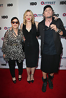 """LOS ANGELES, CA- Courtney Love, Guests, At 2017 Outfest Los Angeles LGBT Film Festival - Closing Night Gala Screening Of """"Freak Show"""" at The Theatre at Ace Hotel, California on July 16, 2017. Credit: Faye Sadou/MediaPunch"""