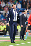 Athletic Club coach Jose Angel Ziganda during La Liga match between Real Madrid and Athletic Club at Santiago Bernabeu Stadium in Madrid. April 19, 2017. (ALTERPHOTOS/Borja B.Hojas)