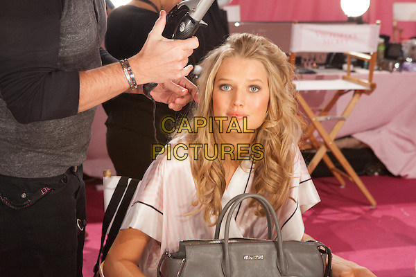 NEW YORK, NY - NOVEMBER 13, 2013: Martha Hunt at the 2013 Victoria's Secret Fashion Show hair and make-up room at Lexington Avenue Armory on November 13, 2013 in New York City.<br /> CAP/MPI/99<br /> &copy;99/MediaPunch/Capital Pictures