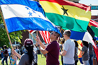 International Fiesta 2017 - Drill Field festival - parade of flags.<br />  (photo by Megan Bean / &copy; Mississippi State University)