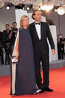 Alexandre Desplat, Dominique Lemonnier at the Shape Of Water premiere, 74th Venice Film Festival in Italy on 31 August 2017.<br /> <br /> Photo: Kristina Afanasyeva/Featureflash/SilverHub<br /> 0208 004 5359<br /> sales@silverhubmedia.com