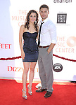 Katherine McCormick and Ryan Guzman attends the Dizzy Feet Foundation's Celebration of Dance Gala held at The Dorothy Chandler Pavilion at The Music Center in Los Angeles, California on July 28,2012                                                                               © 2012 DVS / Hollywood Press Agency