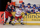 Brooks, AB - May 18 2019 - GOLD - Brooks Bandits vs. Prince George Spruce Kings during the 2019 National Junior A Championship at the Centennial Regional Arena in Brooks, Alberta, Canada (Photo: Matthew Murnaghan/Hockey Canada)