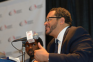 "September 23, 2011  (Washington, DC)   Michael Eric Dyson speaks at a panel discussion during the 41st Annual Legislative Conference of the Congressional Black Caucus Foundation.  The theme of the discussion was""Young, Gifted and Black Braintrust""   (Photo by Don Baxter/Media Images International)"