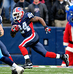 24 December 2006: Buffalo Bills cornerback Terrence McGee (24) returns a kickoff against the Tennessee Titans at Ralph Wilson Stadium in Orchard Park, New York. The Titans edged out the Bills 30-29.&amp;#xA; &amp;#xA;Mandatory Photo Credit: Ed Wolfstein Photo<br />