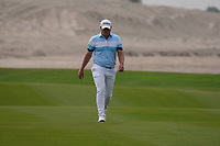 James Sugrue (AM)(IRL) on the 9th during Round 1 of the Oman Open 2020 at the Al Mouj Golf Club, Muscat, Oman . 27/02/2020<br /> Picture: Golffile   Thos Caffrey<br /> <br /> <br /> All photo usage must carry mandatory copyright credit (© Golffile   Thos Caffrey)