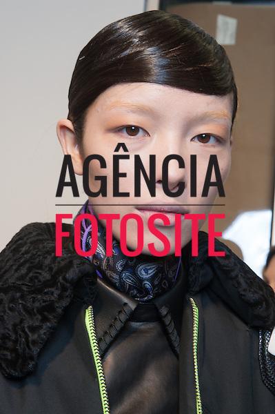 Nova Iorque, EUA &ndash; 02/2014 - Desfile de Alexander Wang durante a Semana de moda de Nova Iorque - Inverno 2014. <br /> Foto: FOTOSITE