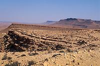 Blick von Speicherburg, Guermessa, Tunesien