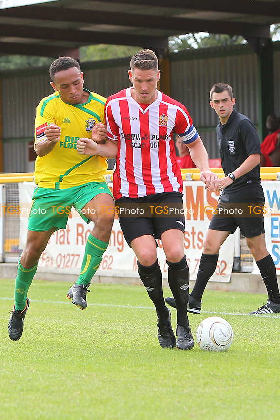 Frankie Curley in action for Hornchurch - Thurrock vs AFC Hornchurch - Pre-Season Friendly Football Match at Ship Lane, Thurrock FC, Purfleet, Essex - 26/07/14 - MANDATORY CREDIT: Gavin Ellis/TGSPHOTO - Self billing applies where appropriate - contact@tgsphoto.co.uk - NO UNPAID USE
