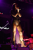 FORT LAUDERDALE FL - SEPTEMBER 26: Madame Mayhem performs at Revolution Live on September 26, 2019 in Fort Lauderdale, Florida. : Credit Larry Marano © 2019