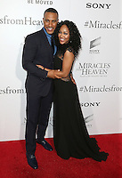 "09 March 2016 - Hollywood, California - DeVon Franklin, Meagan Good. ""Miracles From Heaven"" Los Angeles Premiere held at ArcLight Hollywood. Photo Credit: Sammi/AdMedia"